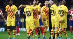 لاعبو برشلونة تحت ضغط التهديد باستثناء 6