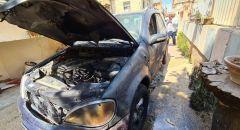 احراق سيارتين احداها تابعة للرئيس مجلس محلي كفرمندا واصدار بيان