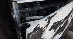 إضرام النار في الملعب البلدي في كفرقرع والمجلس  المحلي يعقب: شلت أيدي الإرهابيين الذين يعبثون بالأملاك العامة
