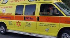 اصابة طفل متوسطة جراء سقوطه عن ارتفاع بساحة منزل في القدس