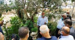 جت المثلّث  ,,, العشرات يحيون ذكرى رامي غرة شهيد هبّة القدس والأقصى
