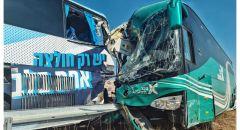 24 مصابًا في حادث طرق على شارع 6 في مركز البلاد