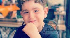 كفرياسيف : وفاة الطفل مجد مروان شحادة متأثرًا بجراحه خلال اللعب