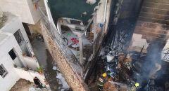 القدس: تخليص عالقين من بناية سكنية إثر اندلاع حريق