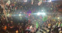 احتفالات النصر تعم فلسطين بعد وقف اطلاق النار بين غزة واسرائيل