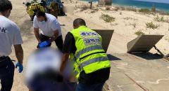 العثور على جثة رجل في احد شواطئ ريشون لتسيون