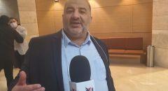 النائب د.منصور عباس  يلتقي  شاكيد في الكنيست