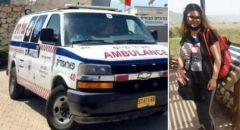 عيلبون : صفاء زياد خوري اول سيدة في عيلبون تحصل على رخصة سيارة اسعاف
