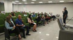 اليوم الدراسي لمدراء مراكز تأهيل الطواقم التدريسية في الكلية الاكاديمية العربية للتربية - حيفا