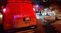 القدس : مصرع شخص بعد اندلاع النيران بسيارة في حي عين كارم