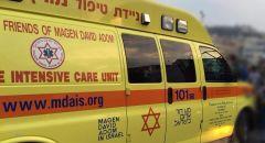 اصابة رجل بجراح بالغة الخطورة اثر انقلاب تراكتورون بمنطقة مفتوحة في النقب