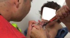 نهاريا: تخليص يد طفل علقت بمصفاة الحمام