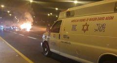 مصرع سيدة واصابة اخرين بحادث طرق على شارع 431 قرب ريشون لتسيون