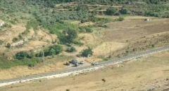 محاولة تنفيذ عملية دهس بالقرب من منطقة رام الله