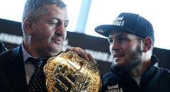 """وفاة والد المقاتل الداغستاني حبيب نورمحمدوف بطل منظمة """"UFC"""" للفنون القتالية"""