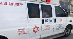 تل أبيب: اصابة عامل (58 عامًا) اثر سقوطه عن ارتفاع