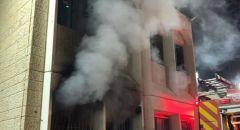 للمرة الرابعة اضرام النار بمدرسة الرسالة في تل السبع