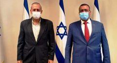 البروفيسور نحمان أش يقوم بزيارة عمل لبلدية القدس
