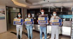 المستشفى الفرنسي في الناصرة بوقفة احتجاجية والاعلان عن اضراب جزئي