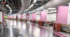 مستشفى رمبام :إغلاق موقف السيارات الأرضي بعد تحويله لقسم كورونا