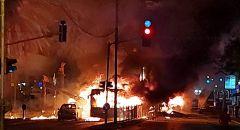 صفارات انذار ودوي انفجارات تهز تل ابيب بعد تهديد الجهاد الاسلامي