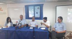مؤتر صحفي للجنة المتابعة حول قرار تنفيذ اعتقالات وتقديم لوائح اتهام ضد مئات المتظاهرين