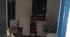 تل السبع: اندلاع حريق بمكتب الرفاه الاجتماعي التابع للمجلس المحلي