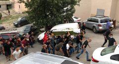 """عارة: المئات يشيعون جثمان الشاب مصطفى يونس مرددين """"يا شهيد ارتاح ارتاح واحنا منكمل كفاح """""""
