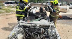 محطة إطفاء أم الفحم تجري تمرين طوارئ خاص يحاكي وقوع حوادث طرق