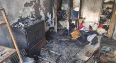 حاسوب نقال يؤدي الى حريق في شقه سكنية بحيفا امس