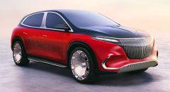 """""""مرسيدس - مايباخ"""" تكشف عن نسخة فاخرة لسيارة الكروس الكهربائية"""