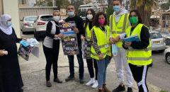 فاخر بيادسة: بلدية حيفا توزع رزما إبداعية وكراسة من وزارة الصحة لتوعية وتسلية الأطفال العرب