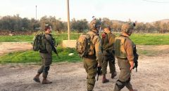 الجيش الاسرائيلي يواصل البحث عن مشتبهين فلسطينيين حاولا تنفيذ عملية دهس وإطلاق نار قرب يعبد