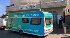 محطات لفحوصات الكورونا بصندوق المرضى لئوميت في الطيبة وجسر الزرقاء