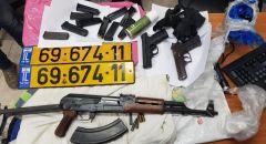 الناصرة: ضبط اسلحة وذخيرة خلال شجار بين عائلتين