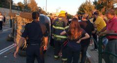 عسفيا : حادث طرق يسفر عن 9 إصابات بينهم إصابتين خطيرتين