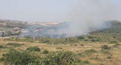 اندلاع حريق في حرش قرب برطعة