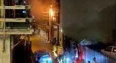 اصابة رجل اثر اندلاع حريق بشقة سكنية في تل ابيب