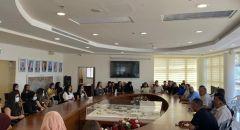 بلدية سخنين توزع 250 منحة دراسية على الطلاب الجامعيين