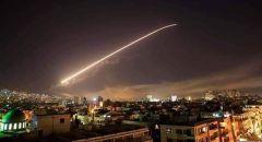 """""""سانا"""": الدفاعات الجوية السورية تتصدى لأهداف معادية في سماء دمشق"""
