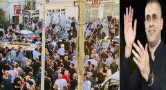 جماهير غفيرة تشيّع جثمان الشاب غازي عباس أمارة في كفركنا