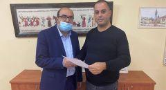 النائب سامي أبو شحادة يقدم ترشيحه للموقع الأول في التجمّع