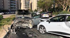 حادث طرق بين 6 سيارات في عراد