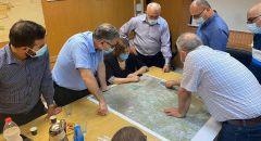 نواب التجمع بزيارة لبلدية طمرة ومجلس الجديدة - مكر، مناهضة لخطة مصادة الأراضي