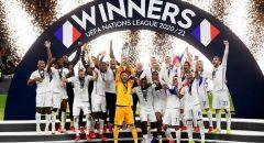 فرنسا تتوج بكأس النسخة الثانية لدوري الأمم الأوروبية على حساب إسبانيا