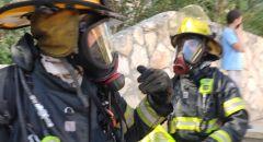 القدس تخليص عالقين من مبنى اثر اندلاع حريق في أرمون هنتسيف