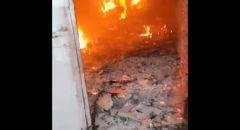 النقب: اندلاع حريق داخل منزل في تل السبع
