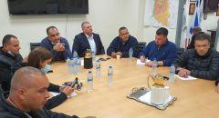دير الاسد : حداد وإضراب عام غدا استنكارا لجريمة قتل الشابين