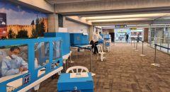 صناديق اقتراع في مطار بن غوريون لتمكين العائدين للبلاد من التصويت