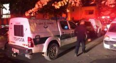 حادث بين مركبتين قرب بئر السبع و اصابة خطيرة